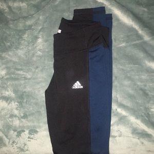 Size small adidas Clima warm leggings.